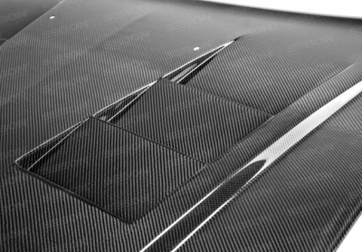 Anderson Composites - Anderson Composites TS Carbon Fiber Hood: Dodge Charger 2011 - 2014 - Image 4