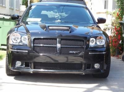 Dodge Magnum Exterior Parts - Dodge Magnum Hood - TruFiber - TruFiber A23 Hood: Dodge Magnum 2005 - 2007