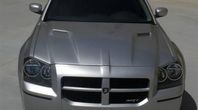 Dodge Magnum Exterior Parts - Dodge Magnum Hood - TruFiber - TruFiber A58 Fiberglass Hood: Dodge Magnum 2005 - 2007