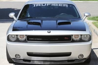 TruFiber - TruFiber A60 Fiberglass Hood: Dodge Challenger 2008 - 2021 - Image 2