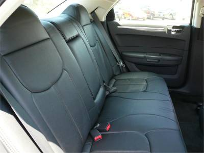 Clazzio - Clazzio Leather Seat Covers: Chrysler 300 2005 - 2010 - Image 2