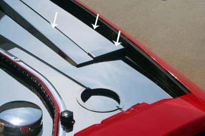 American Car Craft - American Car Craft Polished Header Plate Extension Kit: Dodge Challenger 2008 - 2014 (All Models) - Image 2