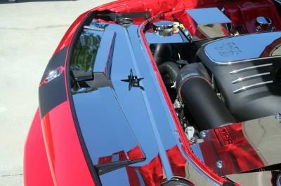 American Car Craft - American Car Craft Polished Header Plate Extension Kit: Dodge Challenger 2008 - 2014 (All Models) - Image 4
