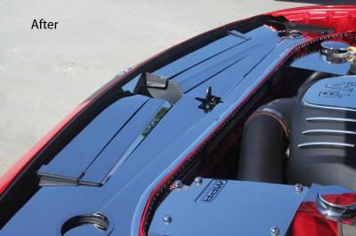American Car Craft - American Car Craft Polished Header Plate Extension Kit: Dodge Challenger 2008 - 2014 (All Models) - Image 5