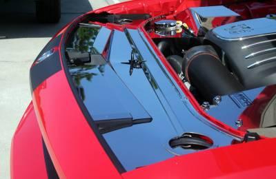 American Car Craft - American Car Craft Polished Header Plate Extension Kit: Dodge Challenger 2008 - 2014 (All Models) - Image 7