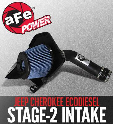 Jeep Grand Cherokee Engine Parts - Jeep Grand Cherokee Air Intake - AFE Power - AFE Cold Air Intake: Jeep Cherokee EcoDiesel 3.0L V6 2014 - 2017