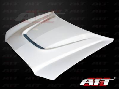 Dodge Charger Exterior Parts - Dodge Charger Hood - AIT Racing - AIT Racing SRT Style Functional Cooling Hood: Dodge Charger 2011 - 2014