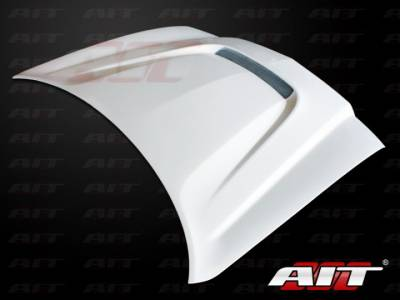 AIT Racing - AIT Racing SRT Style Functional Cooling Hood: Dodge Charger 2011 - 2014 - Image 2