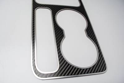 American Car Craft - American Car Craft Carbon Fiber Outer Shift Plate: Dodge Challenger R/T SRT8 2008 - 2014 - Image 2