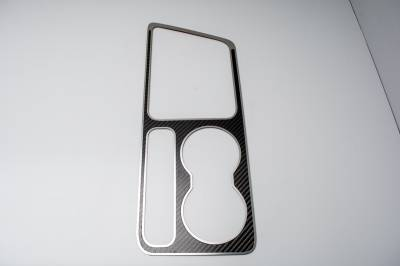 American Car Craft - American Car Craft Carbon Fiber Outer Shift Plate: Dodge Challenger R/T SRT8 2008 - 2014 - Image 4