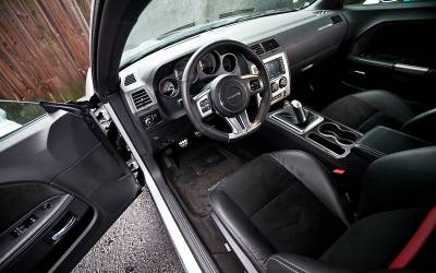 American Car Craft - American Car Craft Carbon Fiber Outer Shift Plate: Dodge Challenger R/T SRT8 2008 - 2014 - Image 6
