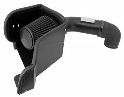 5.7L / 6.1L / 6.4L Hemi Engine Parts - Hemi Cold Air Intake & Filters - K&N Filters - K&N 71 Series Cold Air Intake: Dodge Ram 5.7L Hemi 2009 - 2019