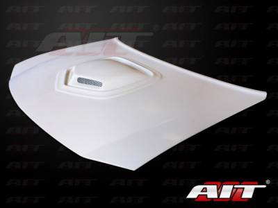 AIT Racing - AIT Racing Shaker Style Functional Ram Air Hood: Dodge Charger 2006 - 2010
