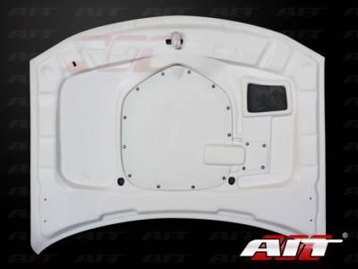 AIT Racing - AIT Racing Shaker Style Functional Ram Air Hood: Dodge Charger 2006 - 2010 - Image 4