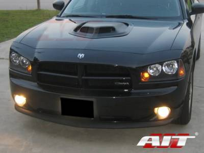 AIT Racing - AIT Racing Shaker Style Functional Ram Air Hood: Dodge Charger 2006 - 2010 - Image 6
