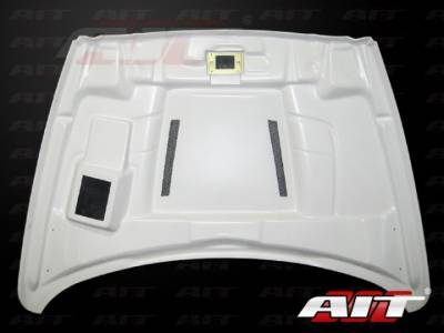 AIT Racing - AIT Racing Type-S Functional Ram Air Hood: Dodge Ram 2002 - 2008 - Image 4