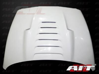 AIT Racing - AIT Racing Type-S Functional Ram Air Hood: Dodge Ram 2002 - 2008 - Image 5