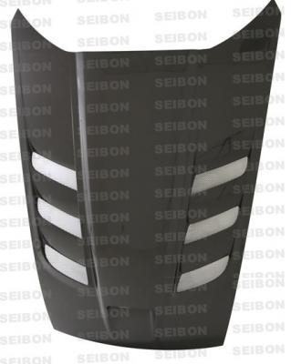 HEMI EXTERIOR PARTS - Hemi Hoods - Anderson Composites - Anderson Composites ACR Carbon Fiber Hood: Dodge Viper SRT10 2003 - 2009
