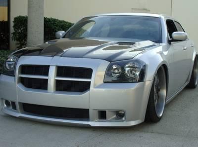 TruCarbon - TruCarbon A58 Carbon Fiber Hood: Dodge Magnum 2005 - 2007 - Image 2