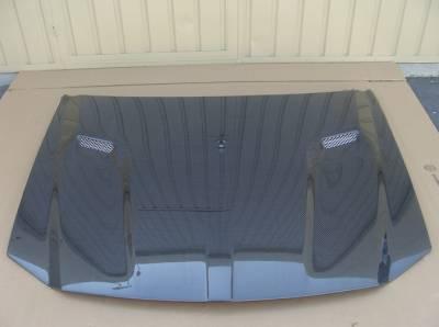 TruCarbon - TruCarbon A58 Carbon Fiber Hood: Dodge Magnum 2005 - 2007 - Image 4