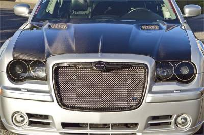 Chrysler 300 Exterior Parts - Chrysler 300 Hood - TruCarbon - TruCarbon A58 Carbon Fiber Hood: Chrysler 300 / 300C 2005 - 2010