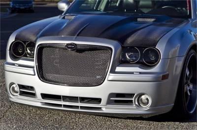 TruCarbon - TruCarbon A58 Carbon Fiber Hood: Chrysler 300 / 300C 2005 - 2010 - Image 2