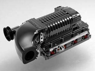 Whipple Superchargers - Whipple Supercharger Kit: Jeep Grand Cherokee 6.4L SRT8 2012 - 2014