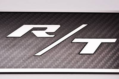 American Car Craft - American Car Craft Carbon Fiber Door Badge (R/T): Dodge Challenger R/T 2008 - 2021 - Image 3