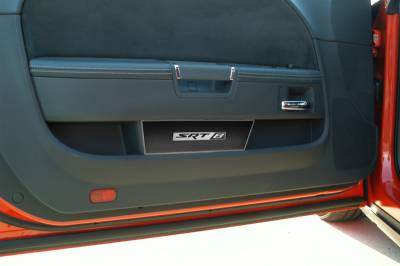 American Car Craft - American Car Craft Carbon Fiber Door Badge (SRT8): Dodge Challenger 2008 - 2021 - Image 3