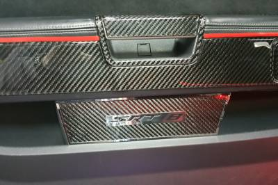 American Car Craft - American Car Craft Carbon Fiber Door Badge (SRT8): Dodge Challenger 2008 - 2021 - Image 4