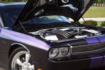 American Car Craft - American Car Craft Upper Grille Overlay: Dodge Challenger 2008 - 2014 - Image 3