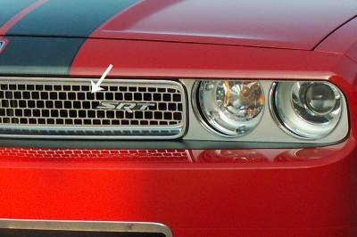 American Car Craft - American Car Craft Upper Grille Overlay: Dodge Challenger 2008 - 2014 - Image 4