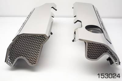 "American Car Craft - American Car Craft ""392"" Polished Fuel Rail Covers: 300 / Challenger / Charger 6.4L SRT8 2011 - 2020 - Image 2"