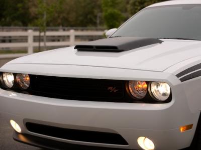 Dodge Challenger Exterior Parts - Dodge Challenger Hood - RK Sport - RK Sport Ram Air Hood: Dodge Challenger 2008 - 2014