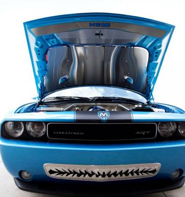 """American Car Craft - American Car Craft Polished """"Shark Tooth"""" Lower Front Grille: Dodge Challenger R/T SRT8 2008 - 2014 - Image 4"""