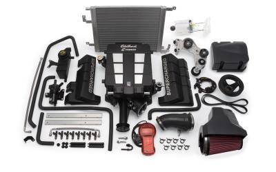 HEMI SUPERCHARGER KIT - Hemi Supercharger Kits - Edelbrock - Edelbrock E-Force Supercharger Kit: 300C / Charger / Magnum 5.7L Hemi 2005 - 2008