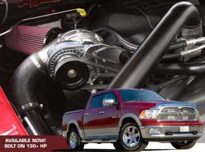 DODGE RAM PARTS - Dodge Ram Supercharger Kits - Procharger - Procharger Supercharger Kit: Dodge Ram 5.7L Hemi 1500 2009 - 2010