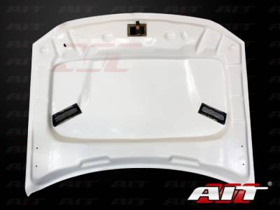AIT Racing - AIT Racing Challenger Style Functional Cooling Hood: Dodge Magnum 2005 - 2007 - Image 2