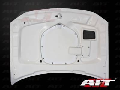 AIT Racing - AIT Racing Shaker Style Functional Ram Air Hood: Dodge Magnum 2005 - 2007 - Image 4