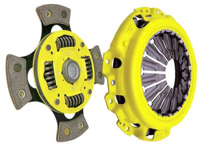 ACT - ACT 4-Puck Clutch Kit (Heavy Duty Pressure Plate / Sprung Hub): Dodge Neon SRT4 2003 - 2005 - Image 2