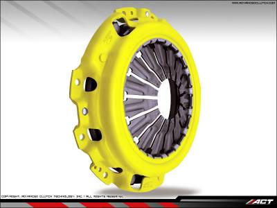 ACT - ACT 4-Puck Clutch Kit (Heavy Duty Pressure Plate / Sprung Hub): Dodge Neon SRT4 2003 - 2005 - Image 4