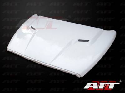 AIT Racing - AIT Racing Challenger Style Functional Cooling Hood: Dodge Ram 2002-2008