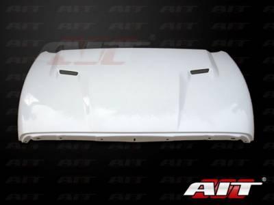 AIT Racing - AIT Racing Challenger Style Functional Cooling Hood: Dodge Ram 2002 -2008 - Image 4