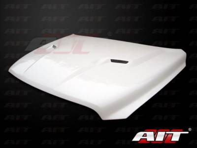 AIT Racing - AIT Racing Challenger Style Functional Cooling Hood: Dodge Ram 2009 - 2012