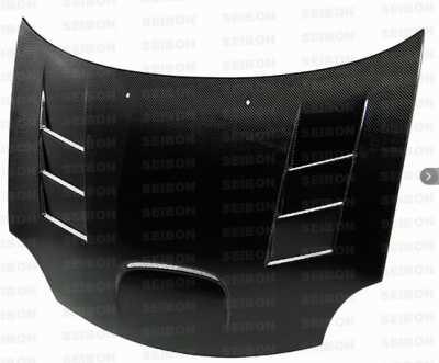 Dodge Neon SRT4 Carbon Fiber Parts - Dodge Neon SRT4 Carbon Fiber Hood - Seibon - Seibon TS Carbon Fiber Hood: Dodge Neon SRT4 2003 - 2005