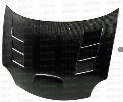 Dodge Neon SRT4 Exterior Parts - Dodge Neon SRT4 Hoods - Seibon - Seibon TS Carbon Fiber Hood: Dodge Neon SRT4 2003 - 2005