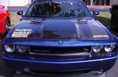 Anderson Composites - Anderson Composites OEM Carbon Fiber Hood: Dodge Challenger 2008 - 2020 - Image 4