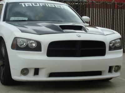 TruCarbon - TruCarbon A23 Carbon Fiber Hood: Dodge Charger 2005 - 2010 - Image 3