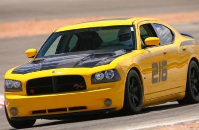 TruCarbon - TruCarbon A58 Carbon Fiber Hood: Dodge Charger 2006 - 2010