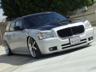 TruCarbon - TruCarbon A23 Carbon Fiber Hood: Dodge Magnum 2005 - 2007 - Image 2